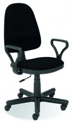 Fotel biurowy BRAVO C11 czarny