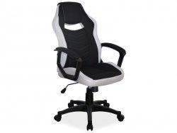 Fotel obrotowy CAMARO szaro-czarny