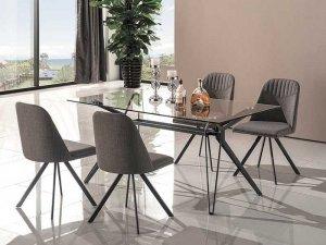 Stół TIVOLI 160x90 szary