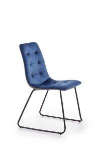 Krzesło K321 granatowe/popielate