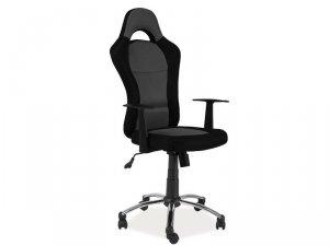 Fotel obrotowy Q039 czarny