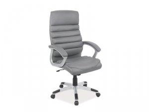 Fotel obrotowy Q087 szary