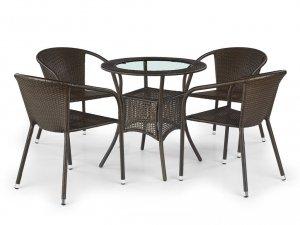 Stół ogrodowy MIDAS ciemny brąz