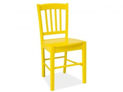 Krzesło CD-57 żółte