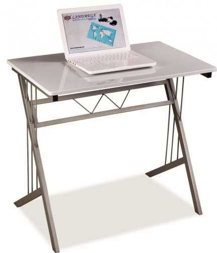 Biurko komputerowe szkolne B-120 białe