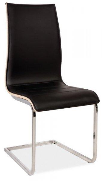 Krzesło H133 czarny/dąb sonoma