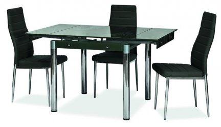 Stół rozkładany GD082 czarny