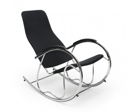 Fotel bujany BEN 2 czarny
