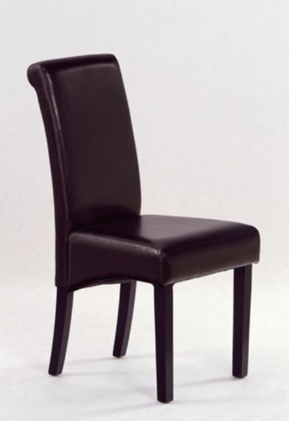 Krzesło NERO ciemny brąz