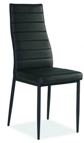 Krzesło H261 czarny/czarny