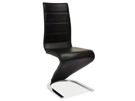 Krzesło H-669 czarno / białe