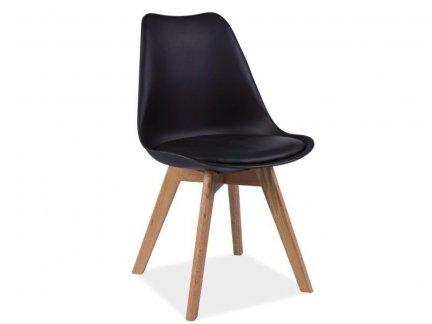 Krzesło KRIS czarne
