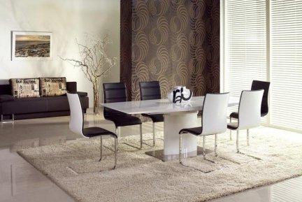 Stół rozkładany MARCELLO biały