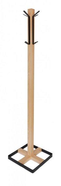 Wieszak drewniany CLINT 1