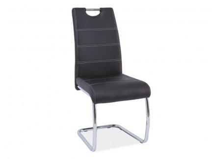 Krzesło H666 czarne