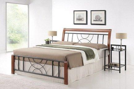 Łóżko CORTINA 160x200 czereśnia antyczna