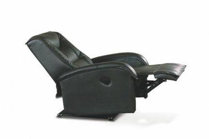 Fotel rozkładany Jeff czarny