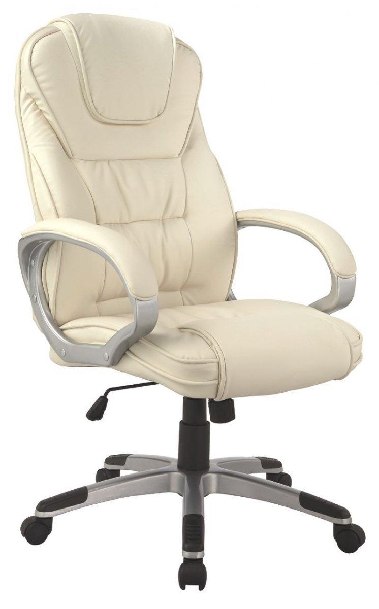 Fotel obrotowy Q-031 beżowy