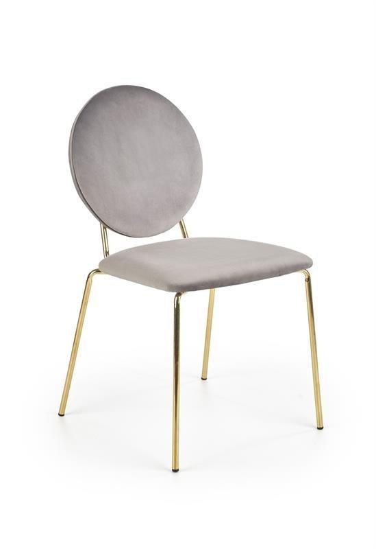 Krzesło K363 ciemno popielate