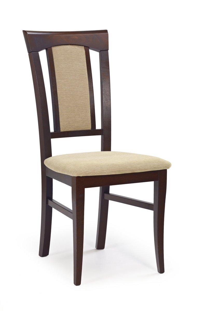 Krzesło KONRAD ciemny orzech/torent beige