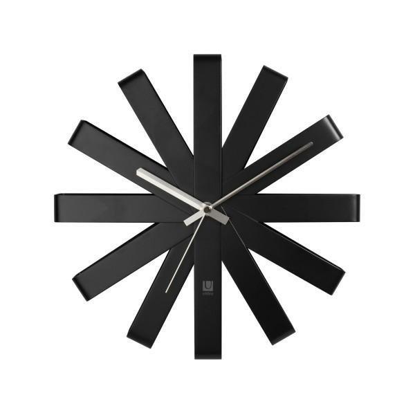 Zegar RIBBON czarny
