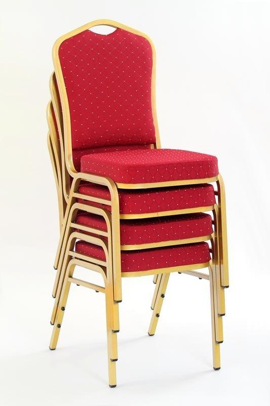 Krzesło K66 bordowe