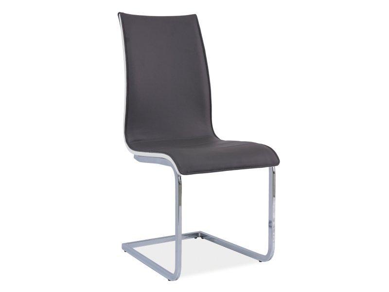 Krzesło H133 szaro-białe