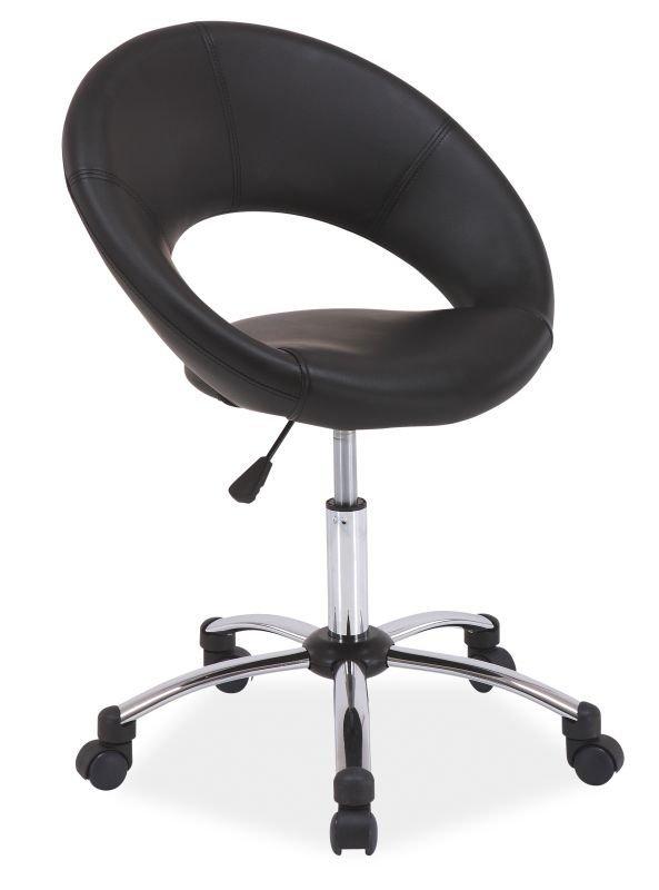 Fotel obrotowy Q128 czarny