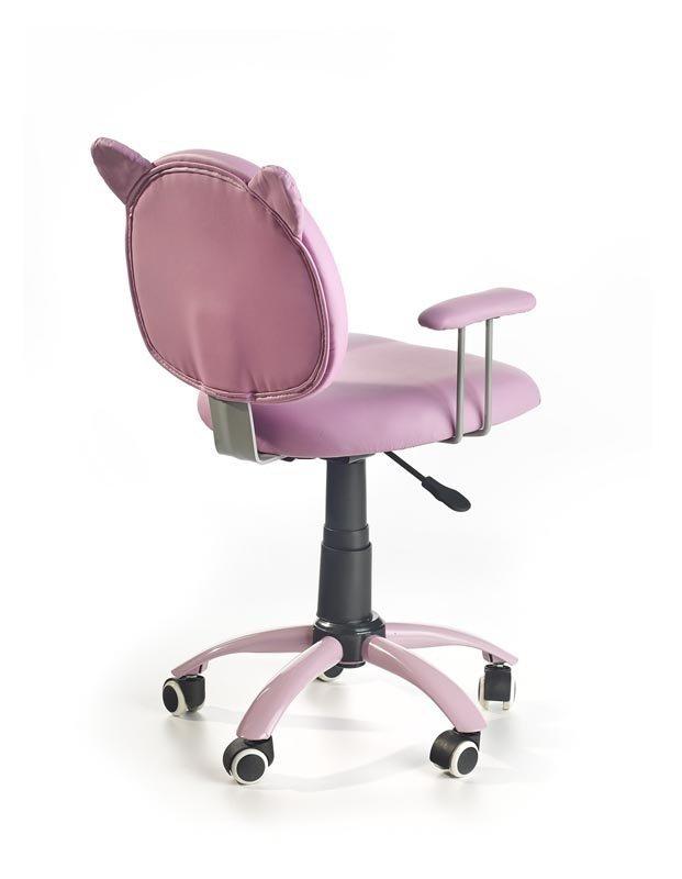 Fotel młodzieżowy KITTY różowy