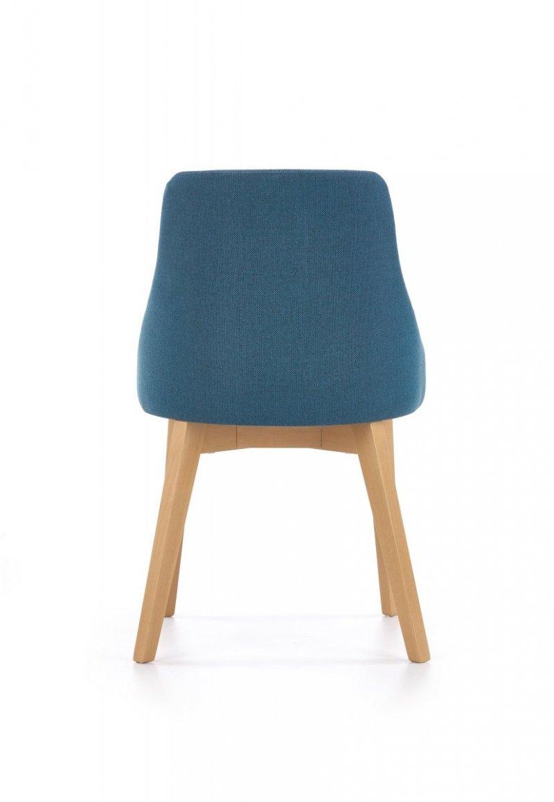Krzesło TOLEDO turkusowy/dąb miodowy