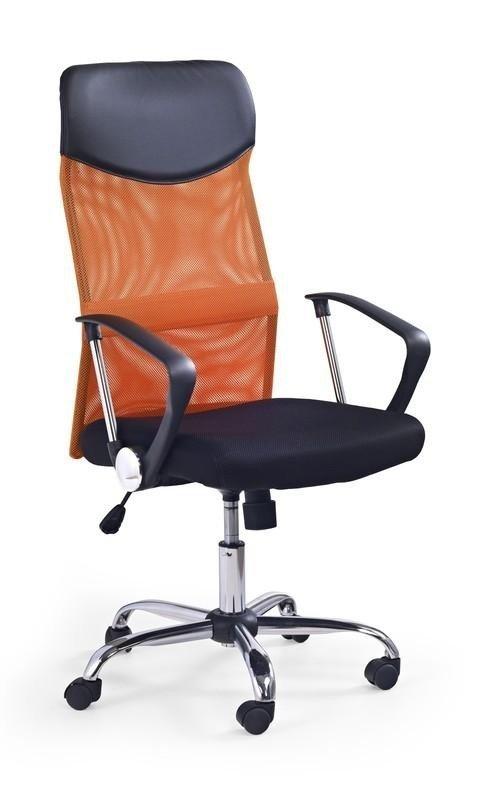 Fotel biurowy VIRE pomarańczowy