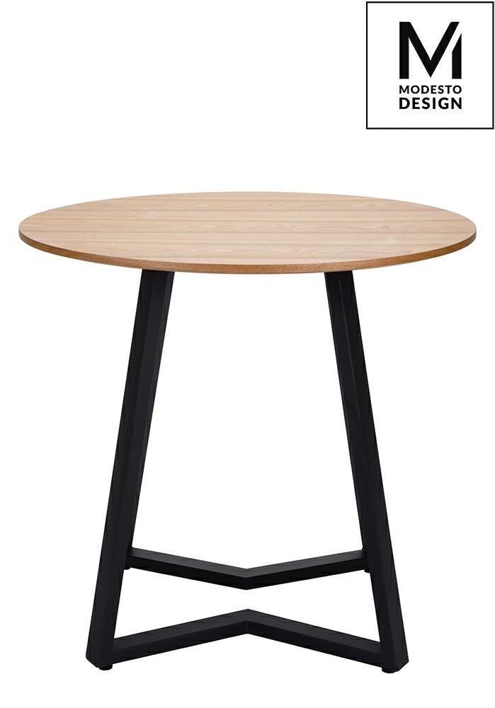 Stół TAVOLO FI 80 dąb/czarny