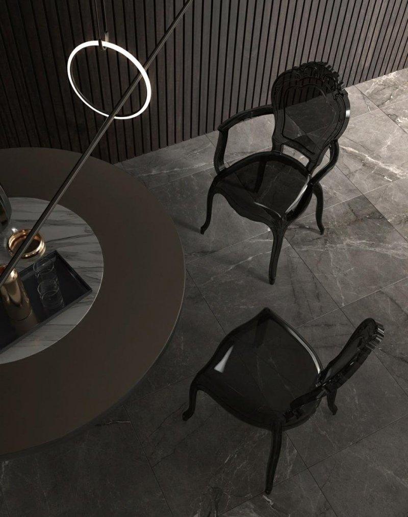 Krzesło KING czarne