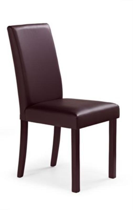 Krzesło NIKKO ciemny orzech/ciemny brąz