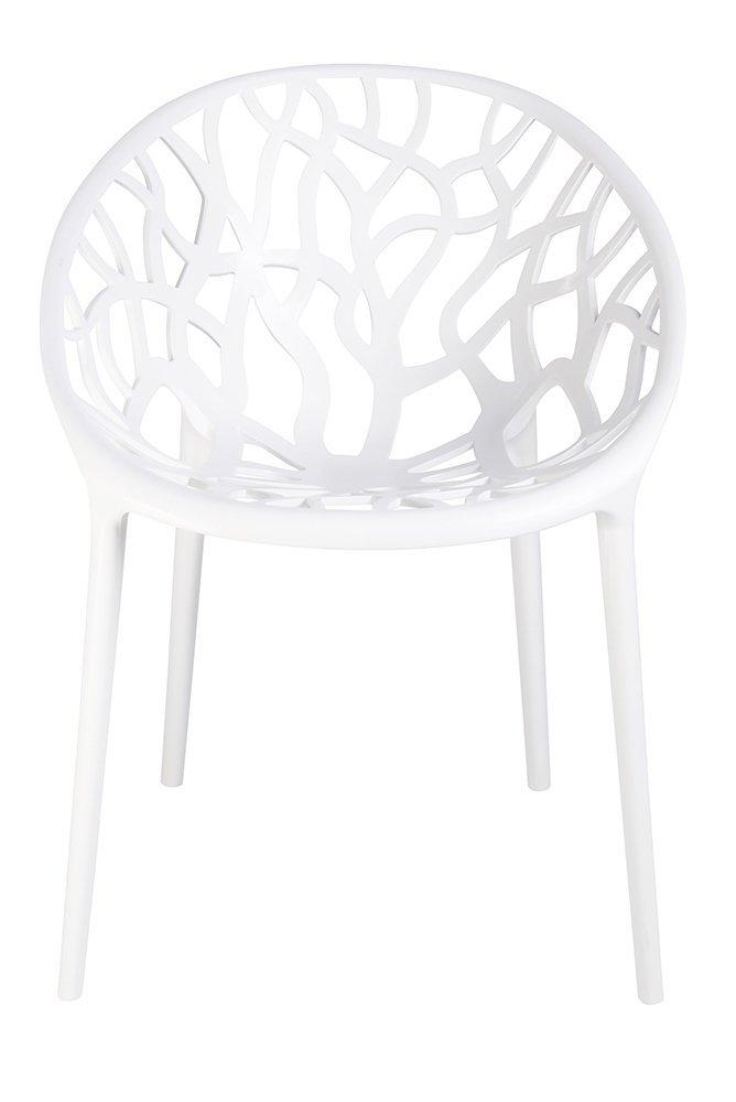 Krzesło KORAL białe