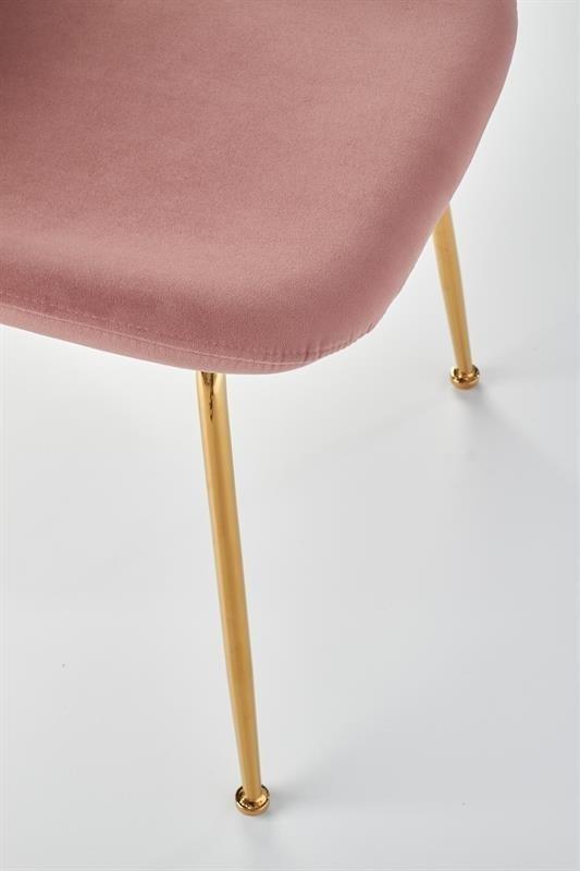 Krzesło K381 różowe