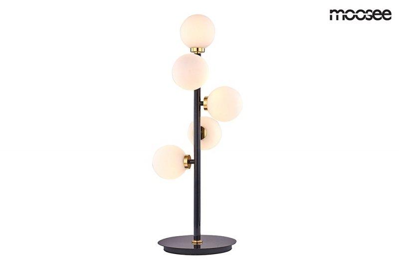 Lampa stołowa COSMO TABLE czarno-złota