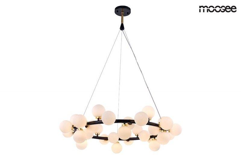Lampa wisząca COSMO M czarno-złota