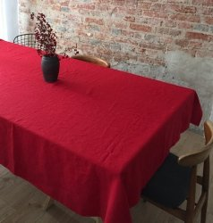 Obrus SIMPLE 145x350 czerwony