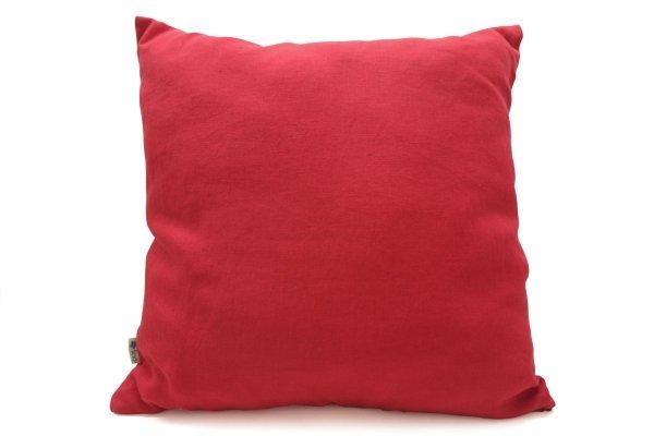Poszewka dekoracyjna (czerwony)