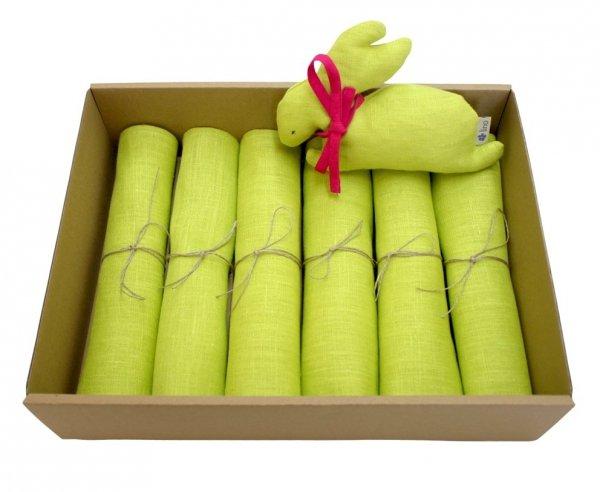 Lniany Zając (zielony)