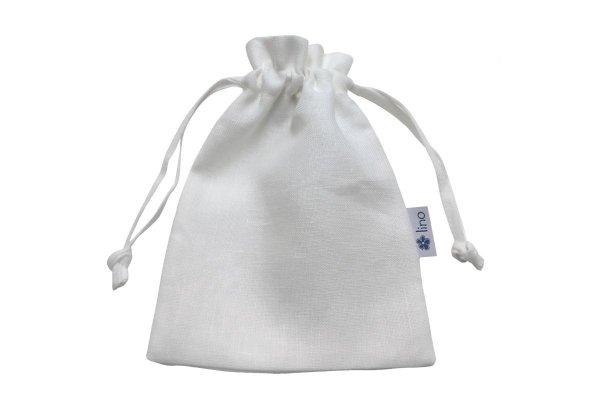worek lniany biały