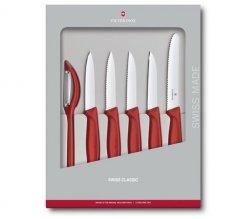 Zestaw noży do warzyw i owoców Swiss Classic 6.7111.6G