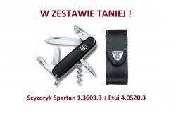 Victorinox Scyzoryk Spartan 1.3603.3 w zestawie z etui