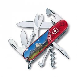 Scyzoryk Victorinox Climber Swiss Knife Valley 1.3703.TE9 GRAWER GRATIS