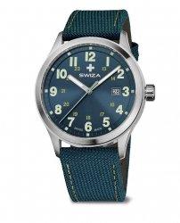 Zegarek SWIZA Kretos Gent SST green-green WAT.0251.1014
