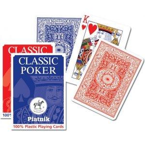 Karty Piatnik Plastik Classic Poker 1361