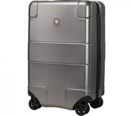 Walizka Lexicon, Frequent Flyer Hard Side Carry-On, Srebrna