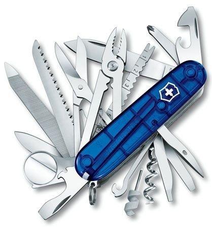 Victorinox SwissChamp 1.6795.T2, grawer gratis
