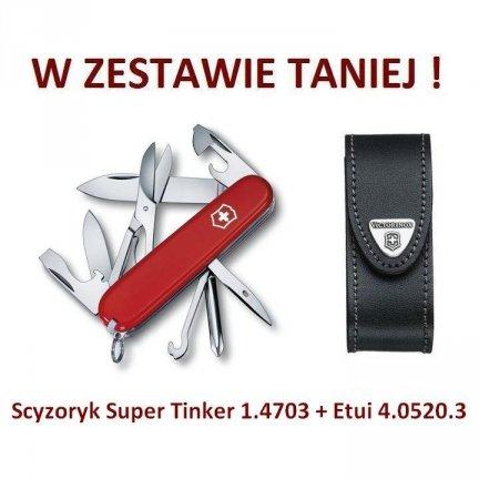 Victorinox Scyzoryk Super Tinker 1.4703 w zestawie z etui